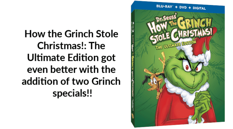 How The Grinch Stole Christmas Blu Ray.How The Grinch Stole Christmas