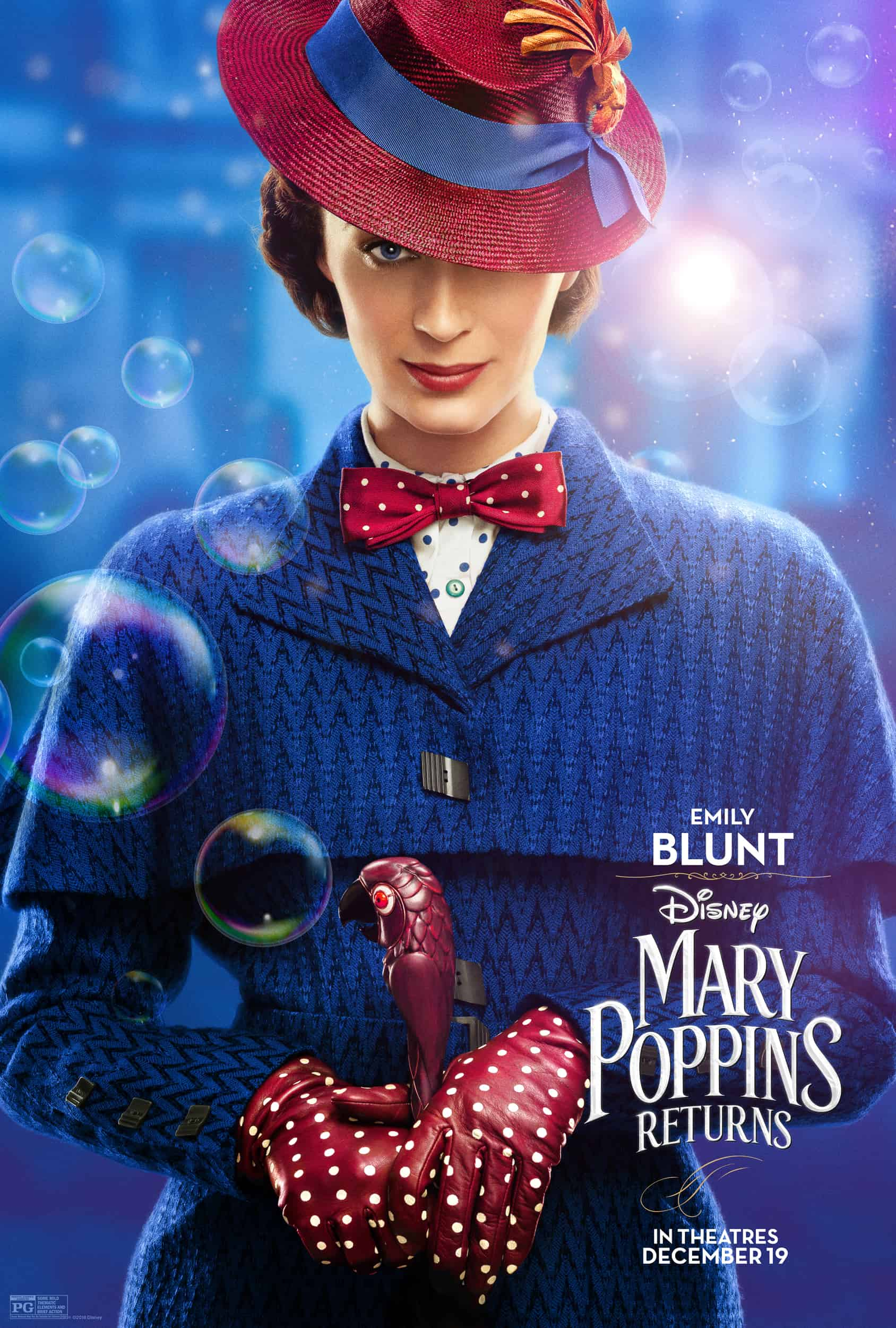 Mary Poppins Returns in theaters on December 19th