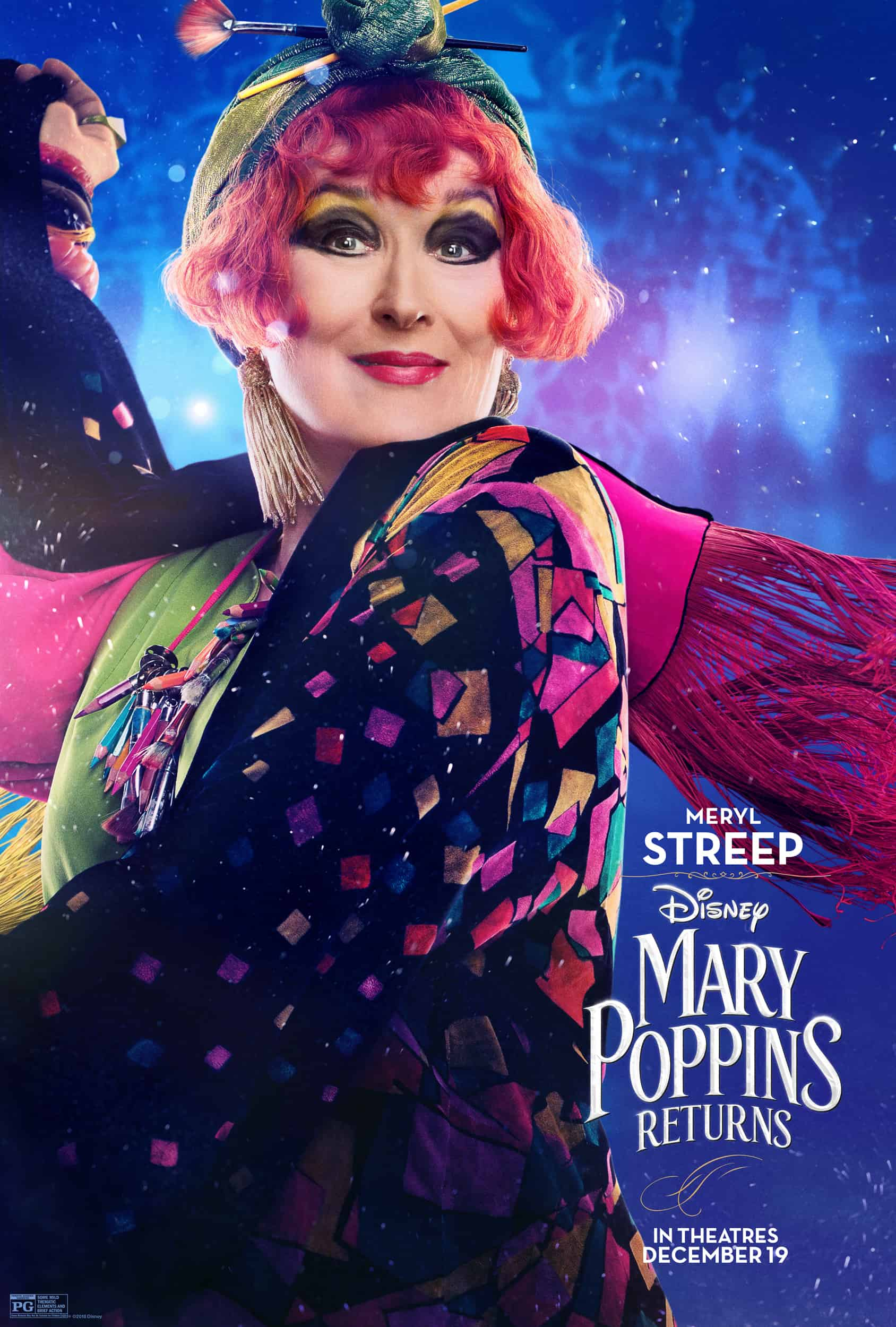Mary Poppins Returns in theaters on December 19th #MaryPoppinsReturns