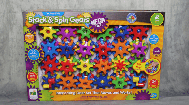 Techno Kids Stack & Spin Gears