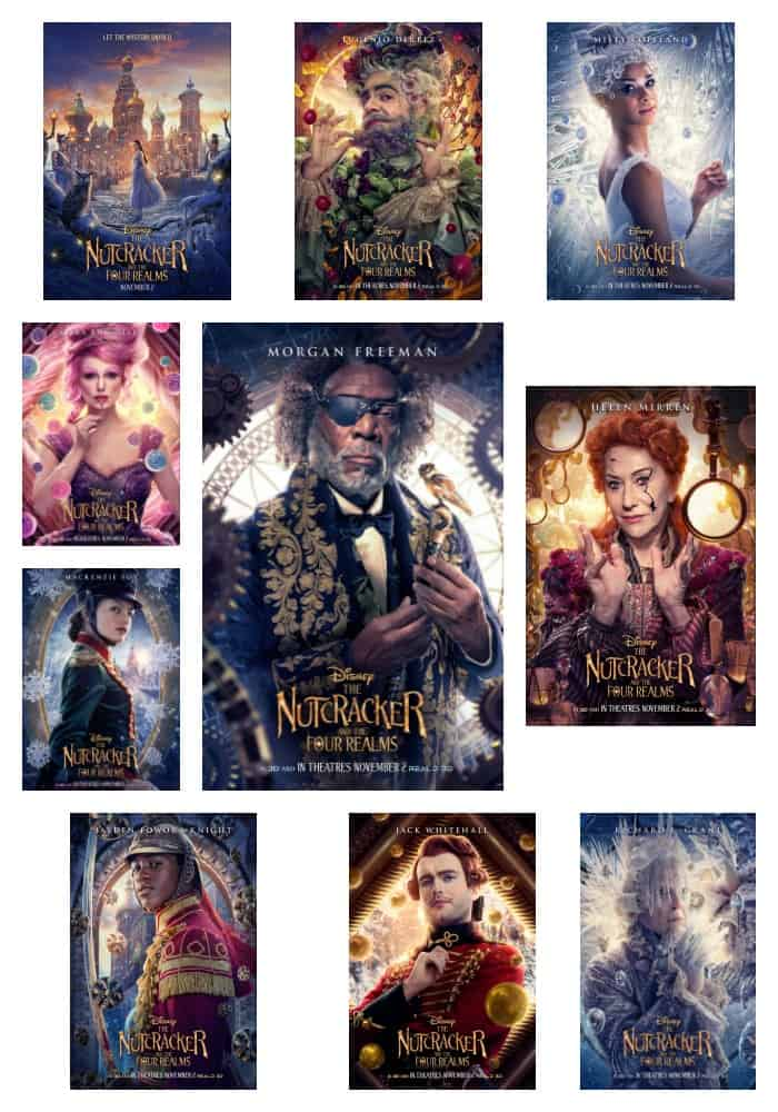 Characters in the Nutcracker and the Four Realms