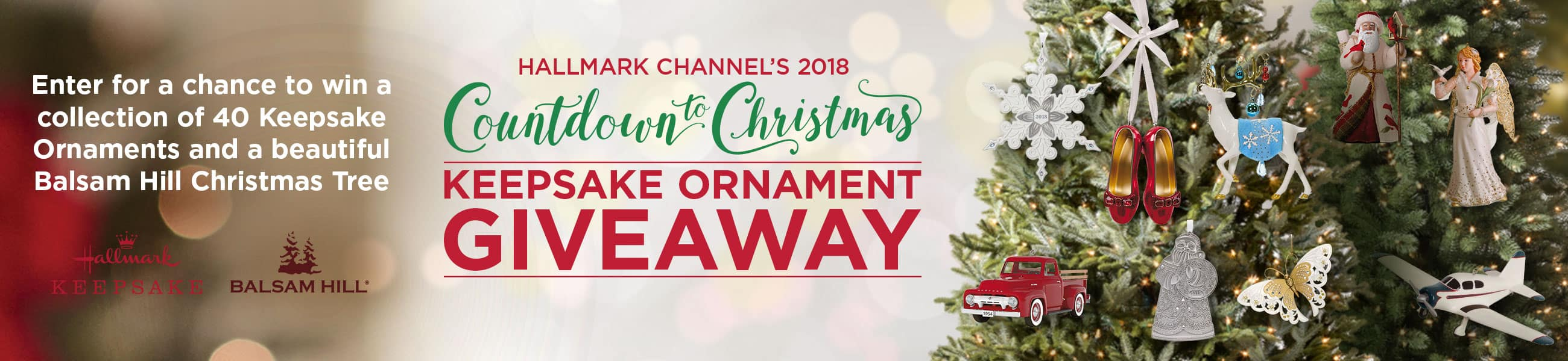 Countdown to Christmas Keepsake Ornament Giveaway