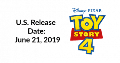 Toy Story 4 in Theaters June 21, 2019