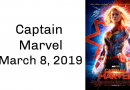 Captain Marvel Coming to Theaters March 8, 2019