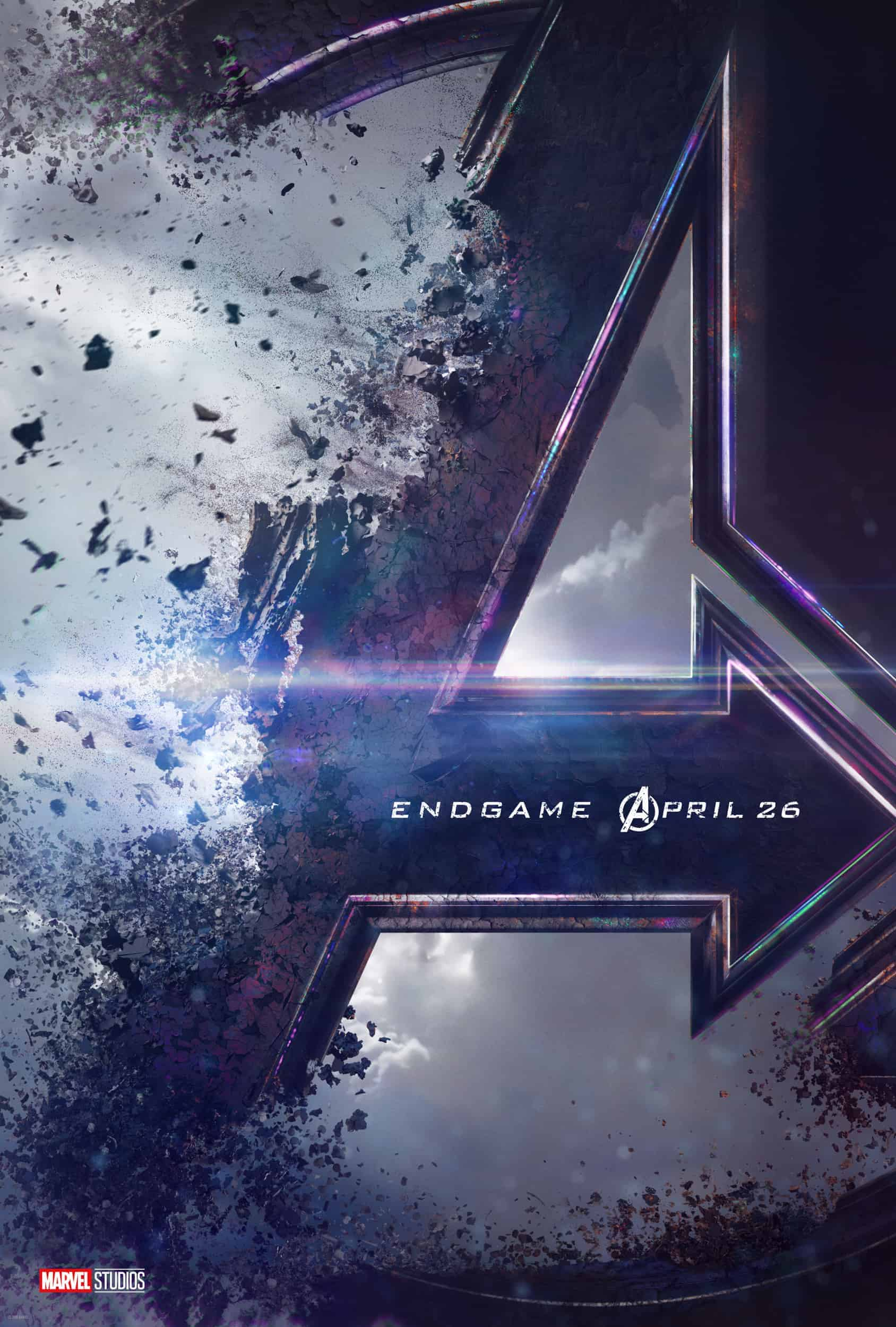 Avengers Endgame Coming To Theaters April 26,2019