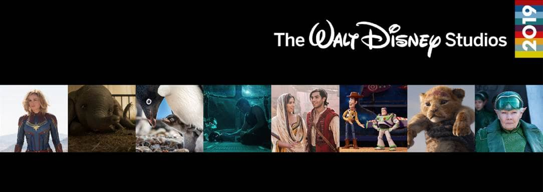 2019 Walt Disney Movie Releases