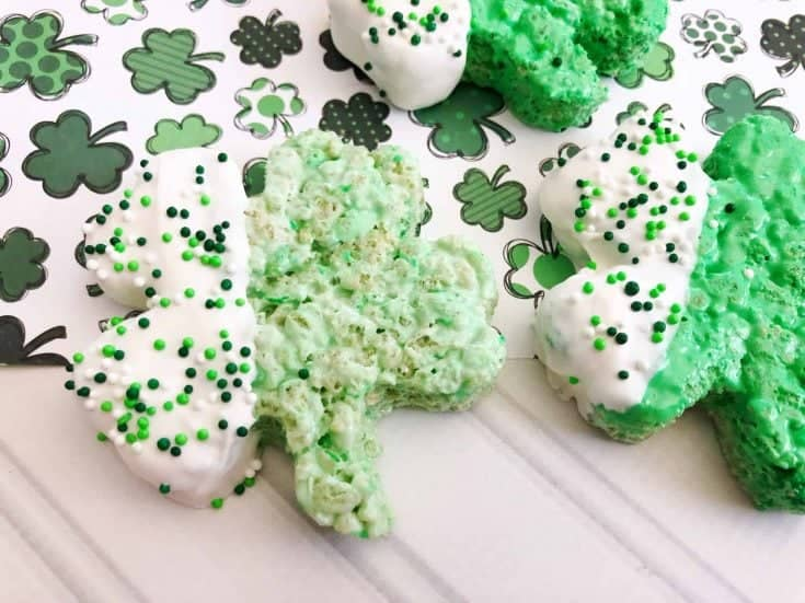 Clover Crispy Treats are Perfect for Saint Patrick's Day