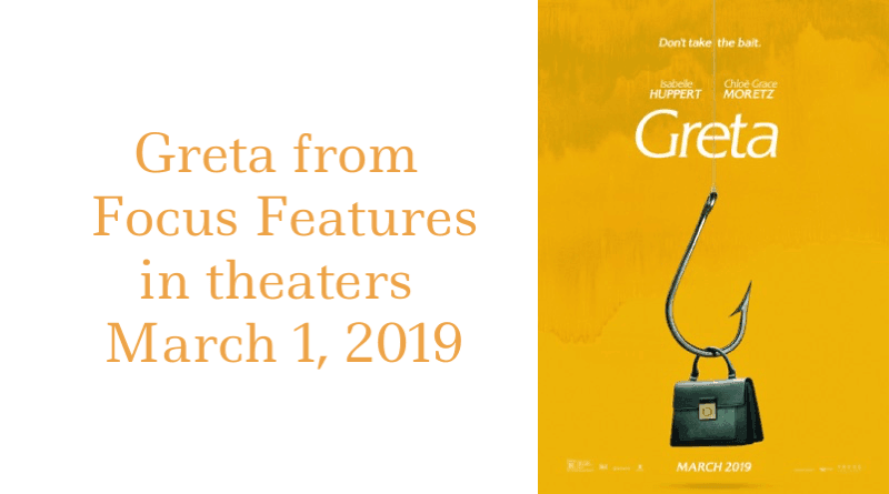Greta in Theaters on March 1, 2019