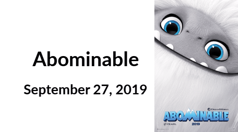 Abominable Now Available on Blu-Ray
