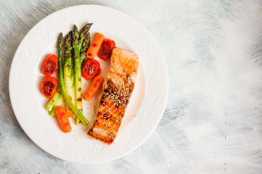 Delicious Salmon and Asparagus