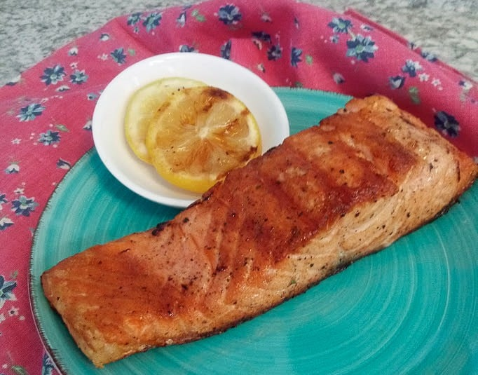 Salmon is the perfect meal