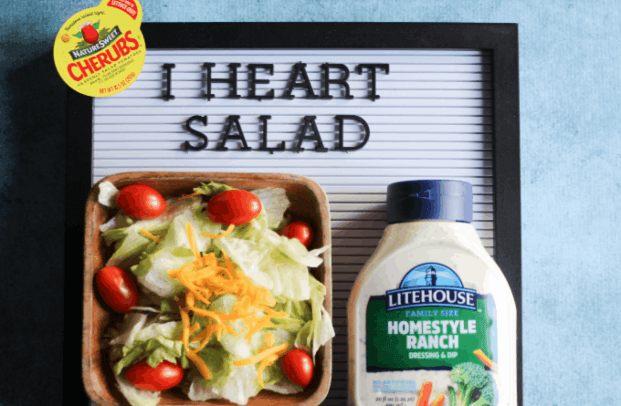 I heart salads