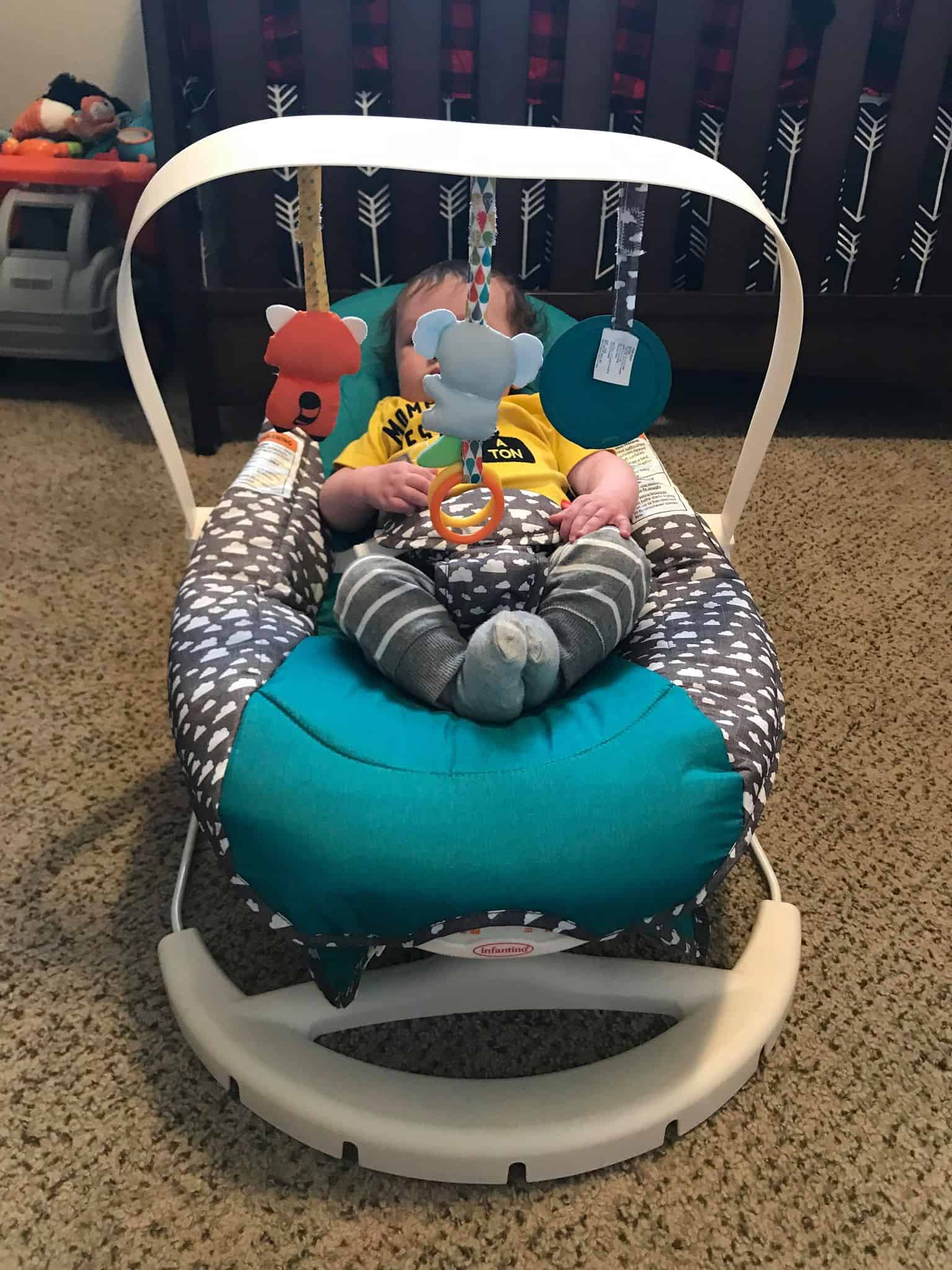 2-in-1 Bouncer & Activity Seat from Infantino
