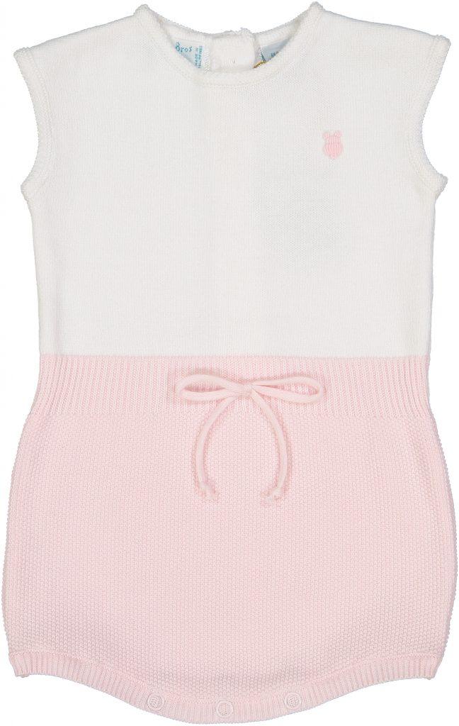 Girls Knit Bunny Shortall