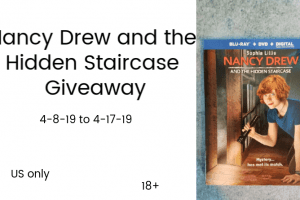 Nancy Drew Giveaway