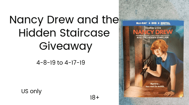 Nancy Drew And The Hidden Staircase Giveaway