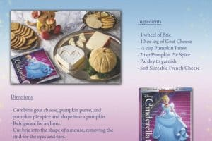 Cinderella Cheese Tray