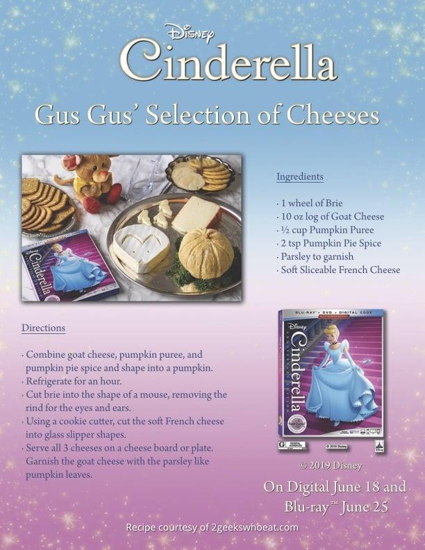 Cinderella Cheese Tray