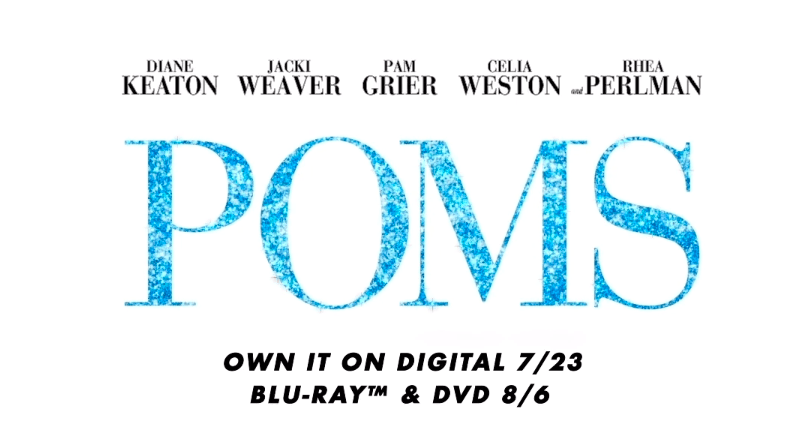 Poms coming to Blu-Ray