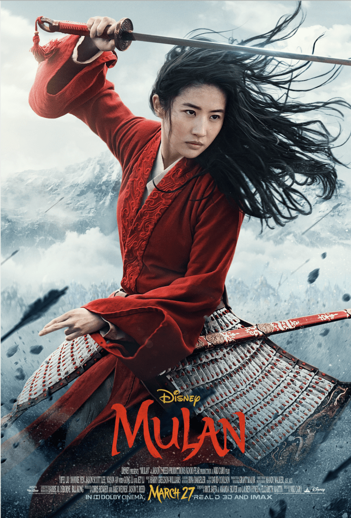 Mulan Coming to Theathers in 2020