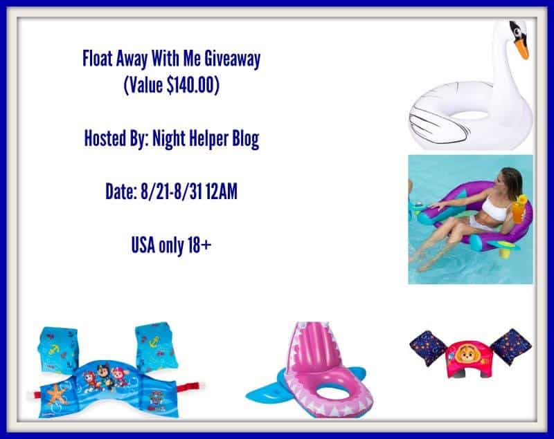 Float Away With Me Giveaway