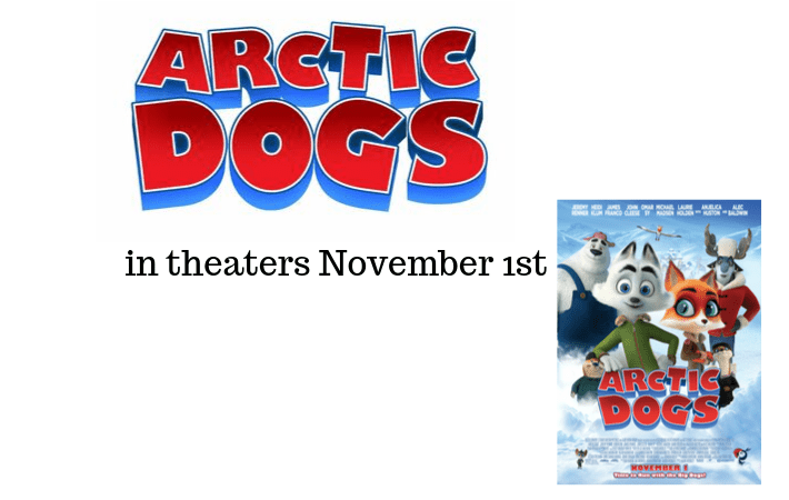 Arctic Dogs in theaters November 1st