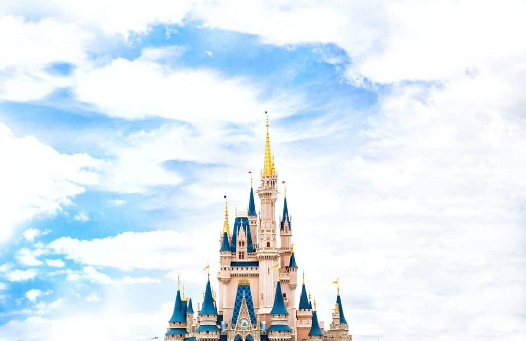 3. The Magic Kingdom Castle