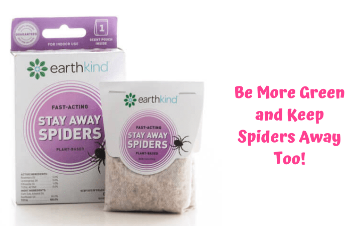 Be More Green and Keep Spiders Away Too!