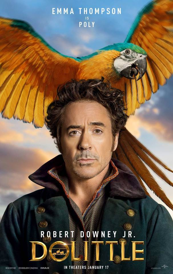 Robert Downey Jr. is DOLITTLE