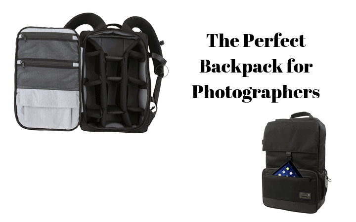 The Perfect Backpack for Photographers