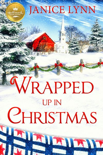 """""""Wrapped Up in Christmas""""out October 1st from Hallmark Publishing!"""