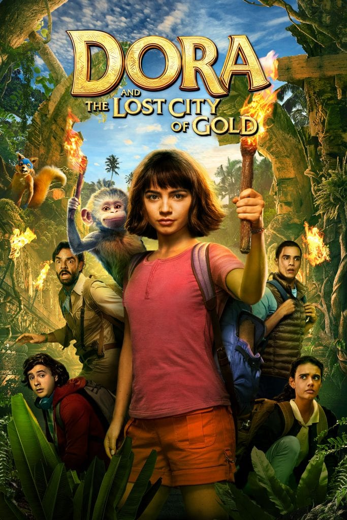 Dora and The Lost City Of Gold now available on DVD