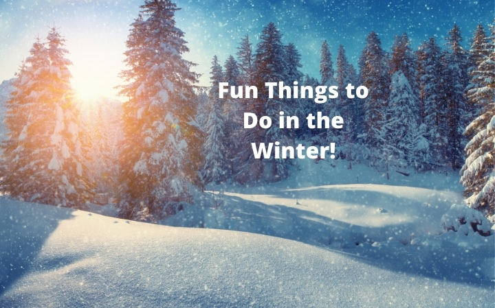 Fun Things to Do in the Winter!