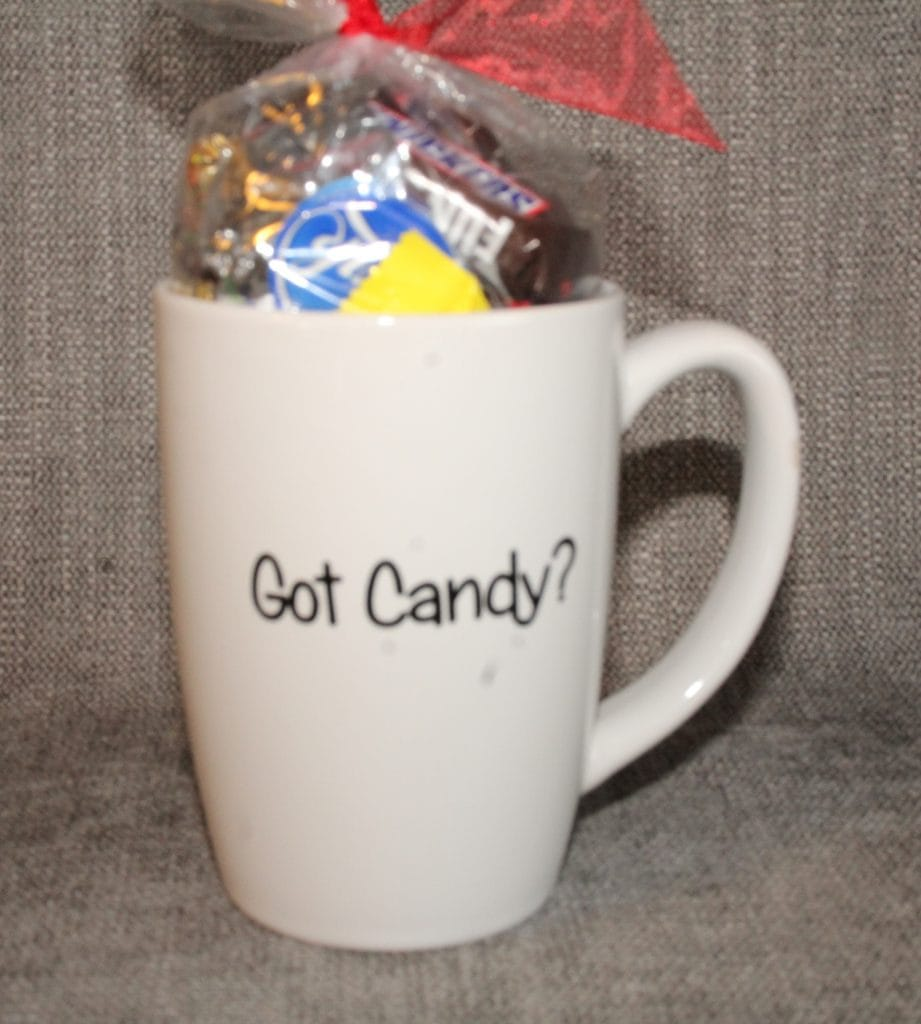Got Candy? Is the perfect gift for chocolate lovers and coffee lovers!