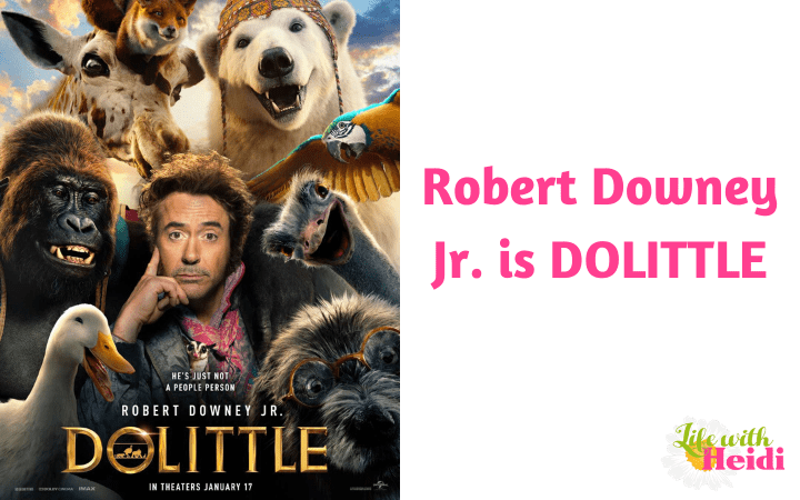 Robert Downey Jr. is DOLITTLE