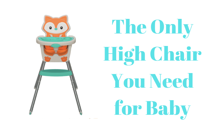 The Only High Chair You Need for Baby