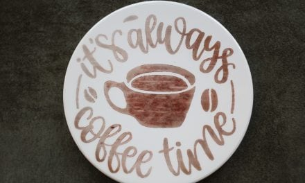 DIY It's Always Coffee Time Coasters with Cricut