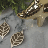 Cricut EasyPress Mini – DIY Leather Earrings