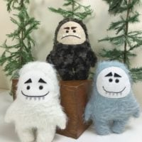 Sew a Yeti Plush with the Cricut Maker