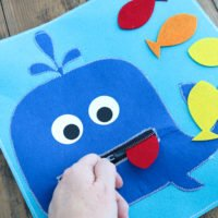 Quiet Activity for Toddlers with Your Cricut