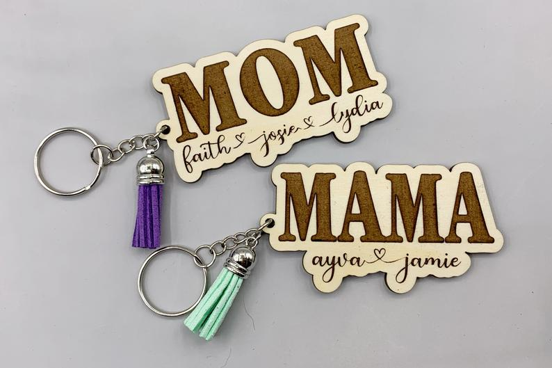 Personalized Keychains make the perfect gifts!