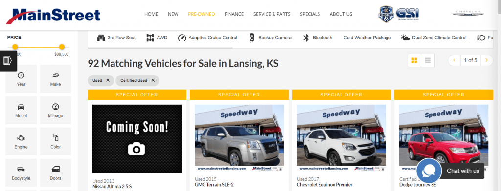 Car Shopping from the Comfort of Home