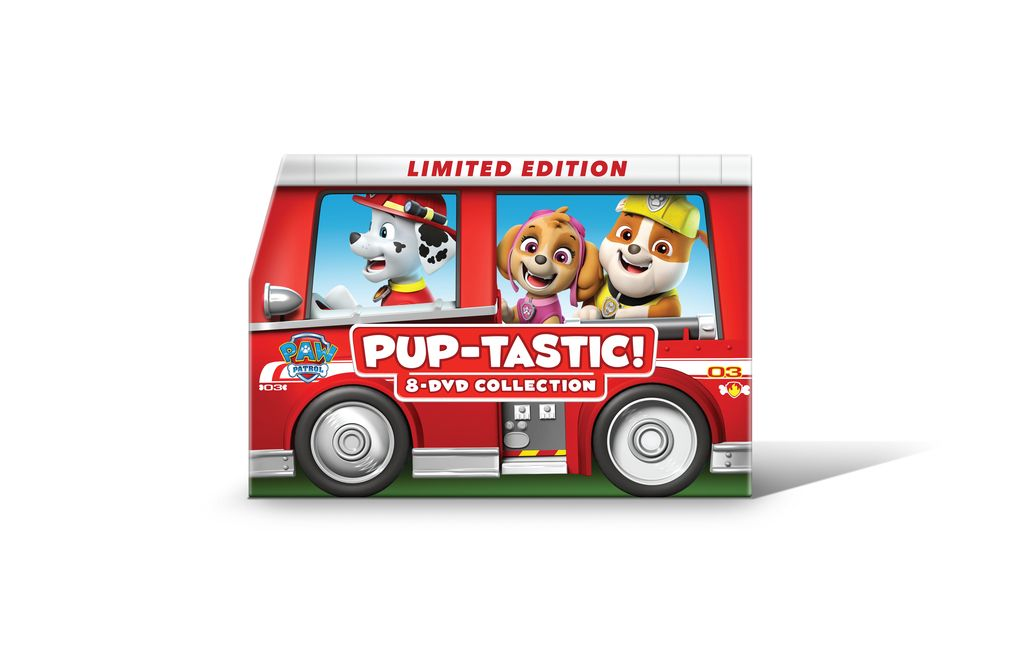 PAW Patrol: PUP-tastic! 8-DVD Collection Limited Edition Marshall's Fire Truck